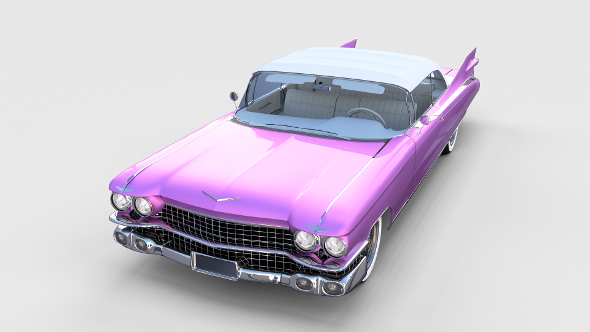1959 Cadillac Eldorado Biarritz Top rev - 3DOcean Item for Sale