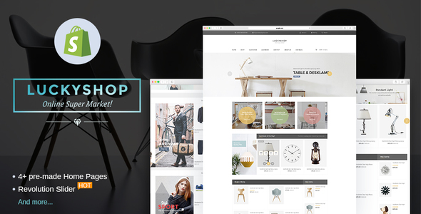 Lucky - Multipurpose Responsive Shopify Theme - Shopify eCommerce