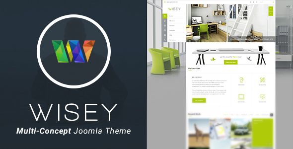 Wisey - High Performance Joomla Template