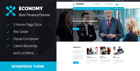 Economy – Finance & Business WordPress Theme