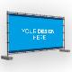 Building Fence Banner Mockup Set - GraphicRiver Item for Sale