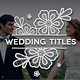Platinum | Wedding Titles Pack - VideoHive Item for Sale