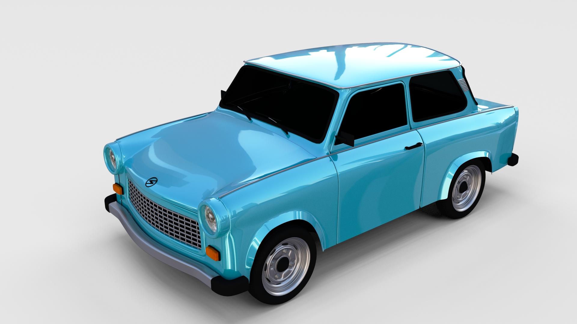 trabant 601 rev by dragosburian 3docean. Black Bedroom Furniture Sets. Home Design Ideas
