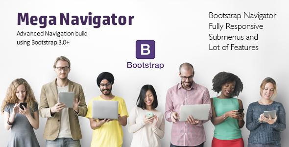 Advanced Navigation Build using Bootstrap 3.0+