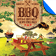 Summer Picnic BBQ Template - GraphicRiver Item for Sale