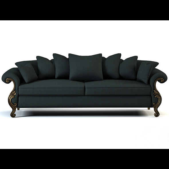 Quality model of classic sofa Wolfgang-angelica - 3DOcean Item for Sale