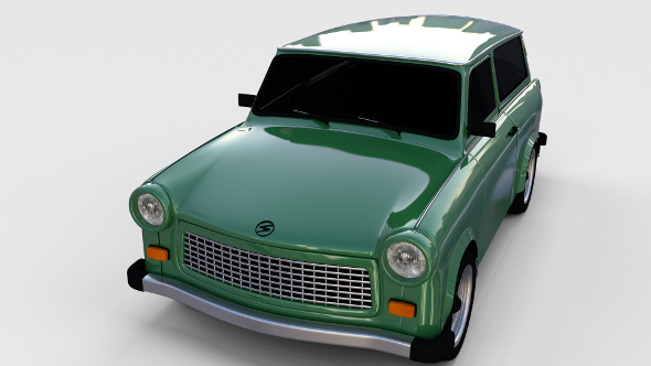 Trabant 601 estate rev - 3DOcean Item for Sale