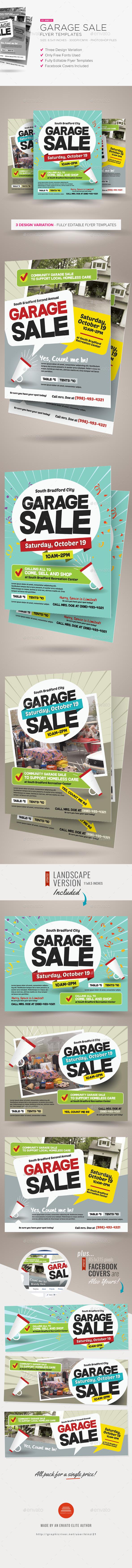 Garage Sale Flyer Templates - Miscellaneous Events
