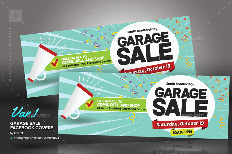 Garage Flyer Templates By Kinzi21 Graphicriver