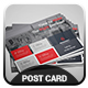 Modern Post Card - GraphicRiver Item for Sale