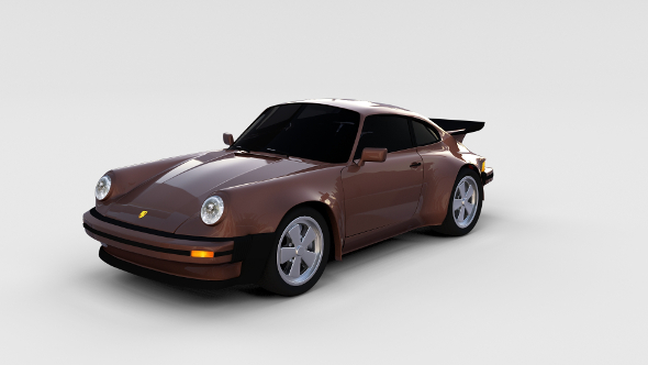 1975 Porsche 911 930 rev - 3DOcean Item for Sale