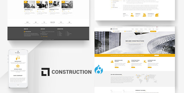Construction – Building Drupal 8 Theme