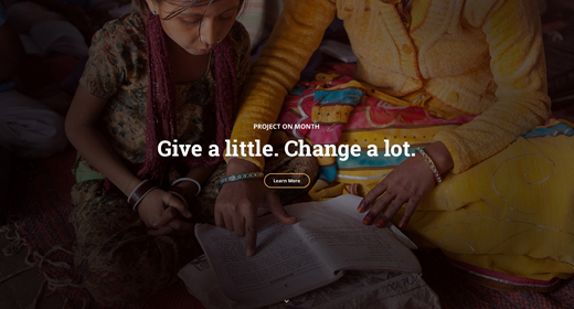 WordPress Charity theme