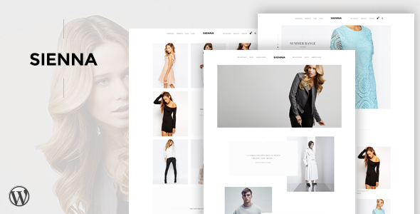 Sienna - Fashion WooCommerce WordPress Theme - WooCommerce eCommerce