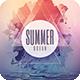 Summer Ocean Flyer - GraphicRiver Item for Sale