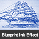 Ink Blueprint Photoshop Action - GraphicRiver Item for Sale