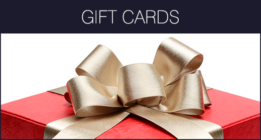 Gift Cards and Certificates