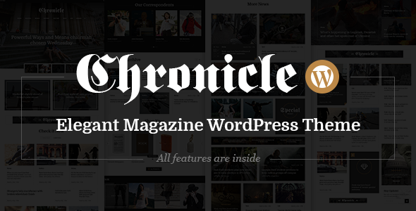 Chronicle - News and Magazine WordPress Theme - Blog / Magazine WordPress