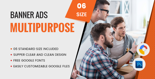 Multi Purpose Banners HTML5 D6 - GWD - CodeCanyon Item for Sale