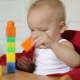 Toddler Playing With Blocks - VideoHive Item for Sale