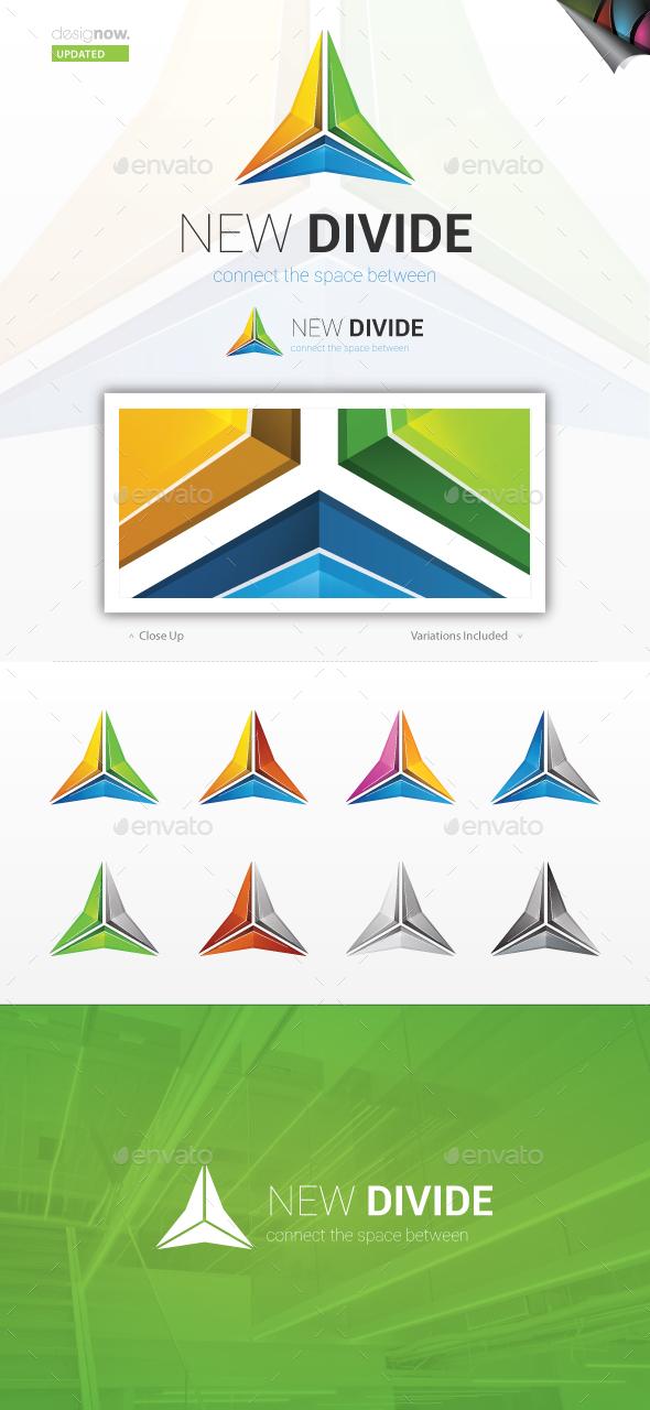 New Divide Logo - Symbols Logo Templates