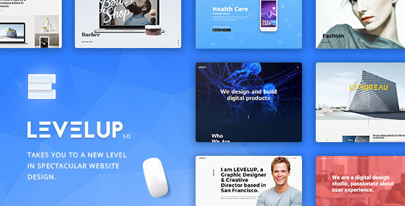 LEVELUP – Creative Multi-Purpose WordPress Theme