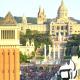 Barcelona Plaza Espana People - VideoHive Item for Sale