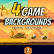 Desert Game Backgrounds - GraphicRiver Item for Sale
