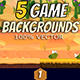 5 Desert Game Backgrounds - GraphicRiver Item for Sale