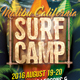 Surf Camp Invitation Poster Template - GraphicRiver Item for Sale
