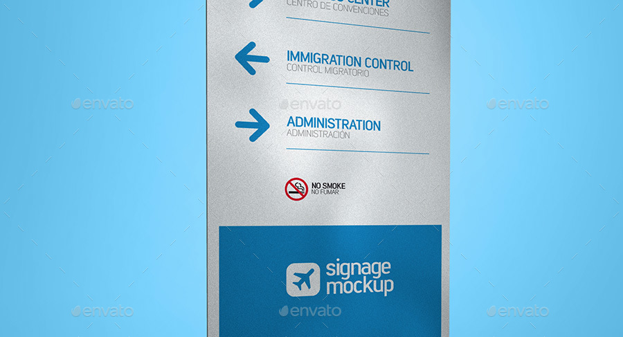 Signage Mockup By Expresa Id Graphicriver
