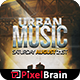 Urban Music Party Flyer Template