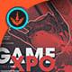 Game Expo Digipak CD Artwork Template