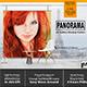 Panorama Creative Studio Mockup Posters