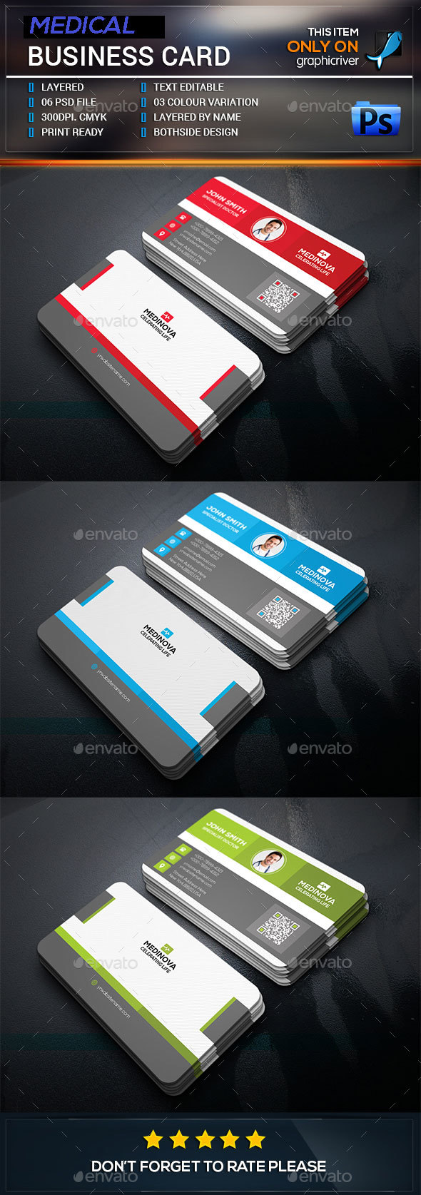 Medical Business Card By Elite Designer