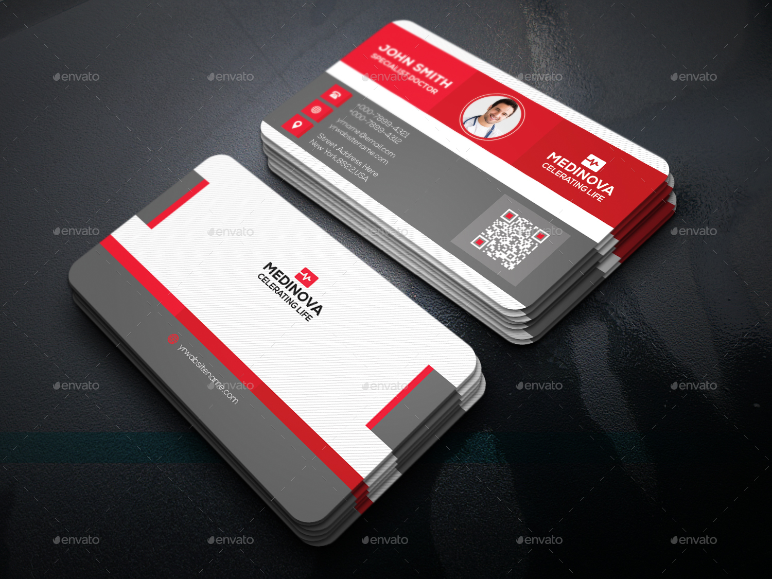 medical business card - Medical Business Cards