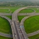 Aerial View Of Highway Junction - VideoHive Item for Sale