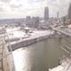 Aerial Snow Nashville Skyline 015. PART 2 - VideoHive Item for Sale
