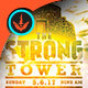 The Strong Tower: Church Flyer Template