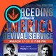 Interceding for America: Church Flyer Template - GraphicRiver Item for Sale