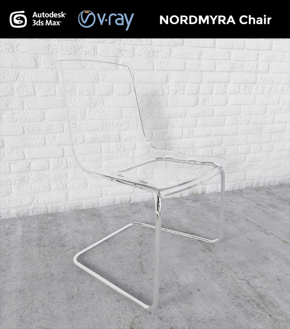 TOBIAS Chair - 3DOcean Item for Sale
