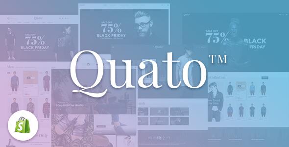 Quato – Responsive Shopify Theme