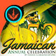 Jamaica Independence Music CD Artwork Template - GraphicRiver Item for Sale
