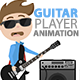 Guitar Player Animation