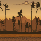 Sunset Game Background - GraphicRiver Item for Sale