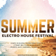 Summer Electro Festival Flyer - GraphicRiver Item for Sale