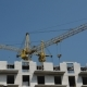 The Movement Of Cranes On The Construction Site - VideoHive Item for Sale