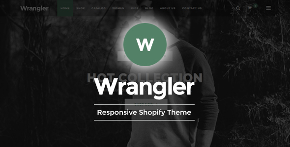 Wrangler – Shopify Responsive Theme