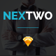 NEXTWO Business Sketch Template Nulled