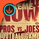 How U Like Me Now: Football Flyer Template